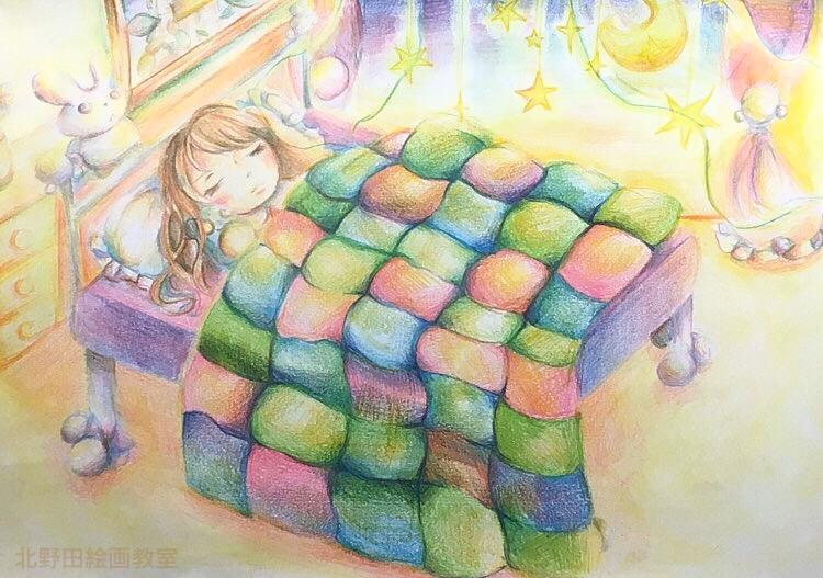 はるかちゃんの色鉛筆画2