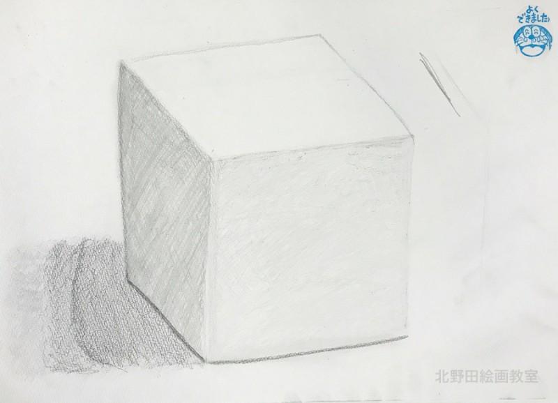 さきちゃん(小学3年生)鉛筆デッサン