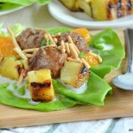 Hawaiian Meatball Lettuce Wraps with Spicy Coconut Milk Dressing 2.1