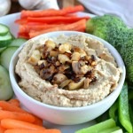 Caramelized Onion and Mushroom Hummus
