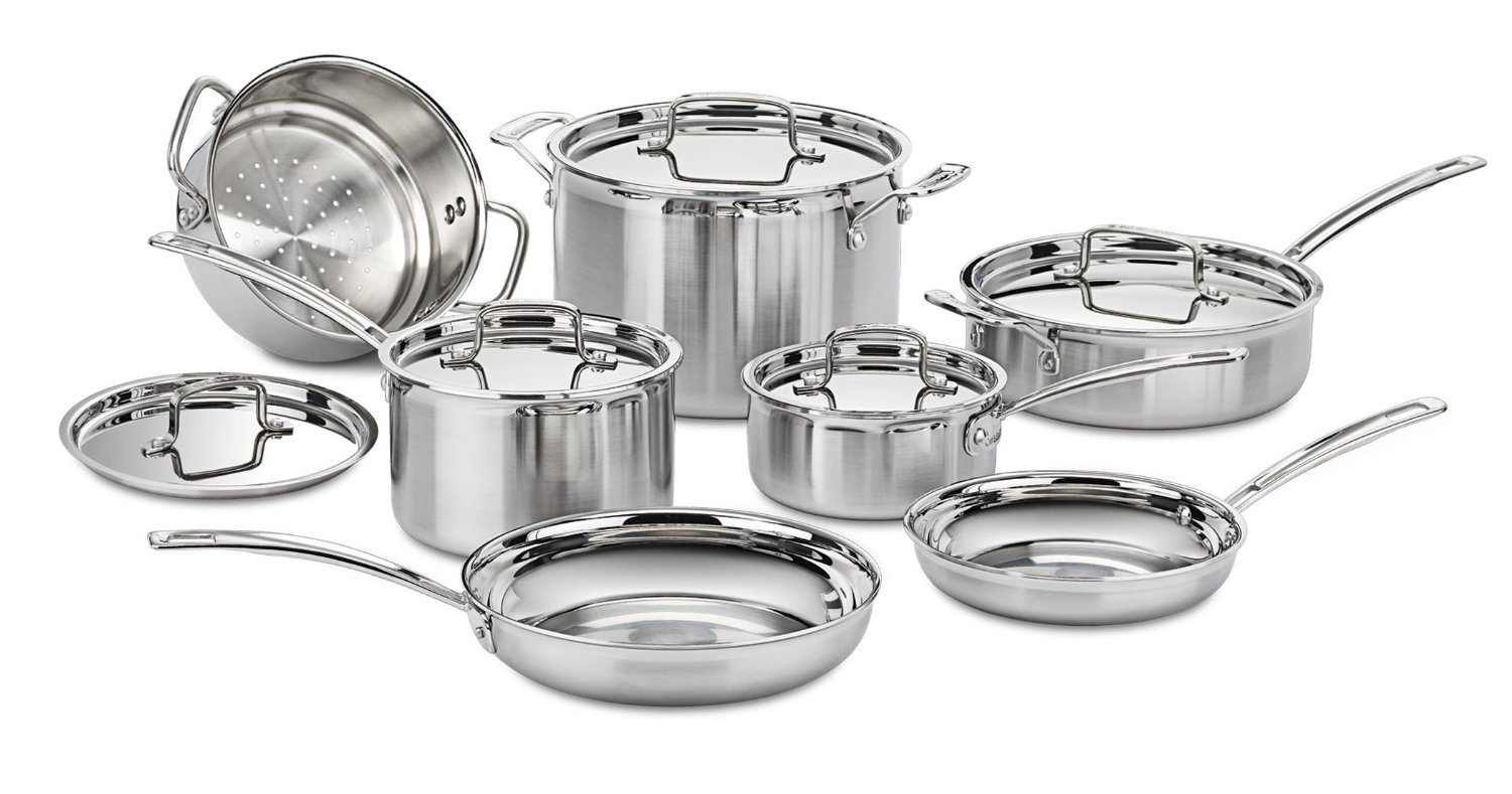 Cuisinart Multiclad Pro Stainless Steel 12-Piece Cookware Set-Worth Every Penny!