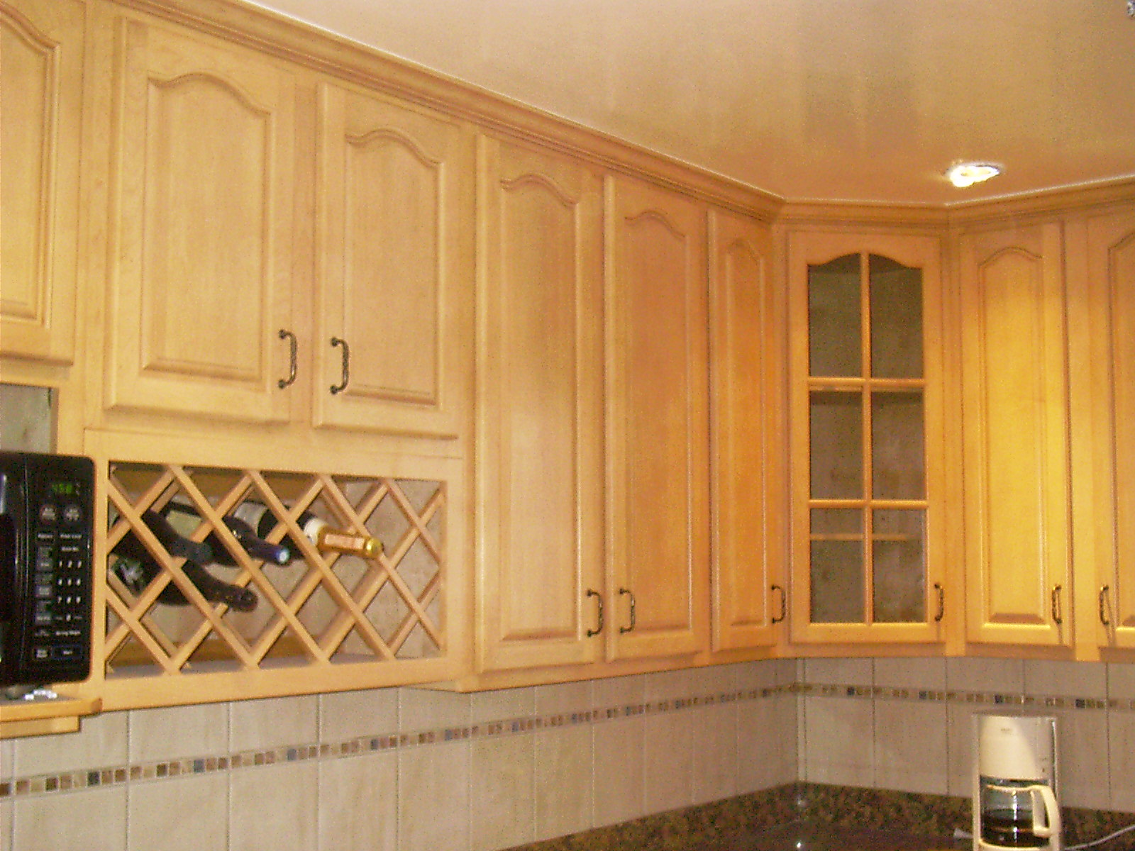 allcabinets cabinets kitchen Natural Maple Cathederal Contemporary Kitchen Cabinets