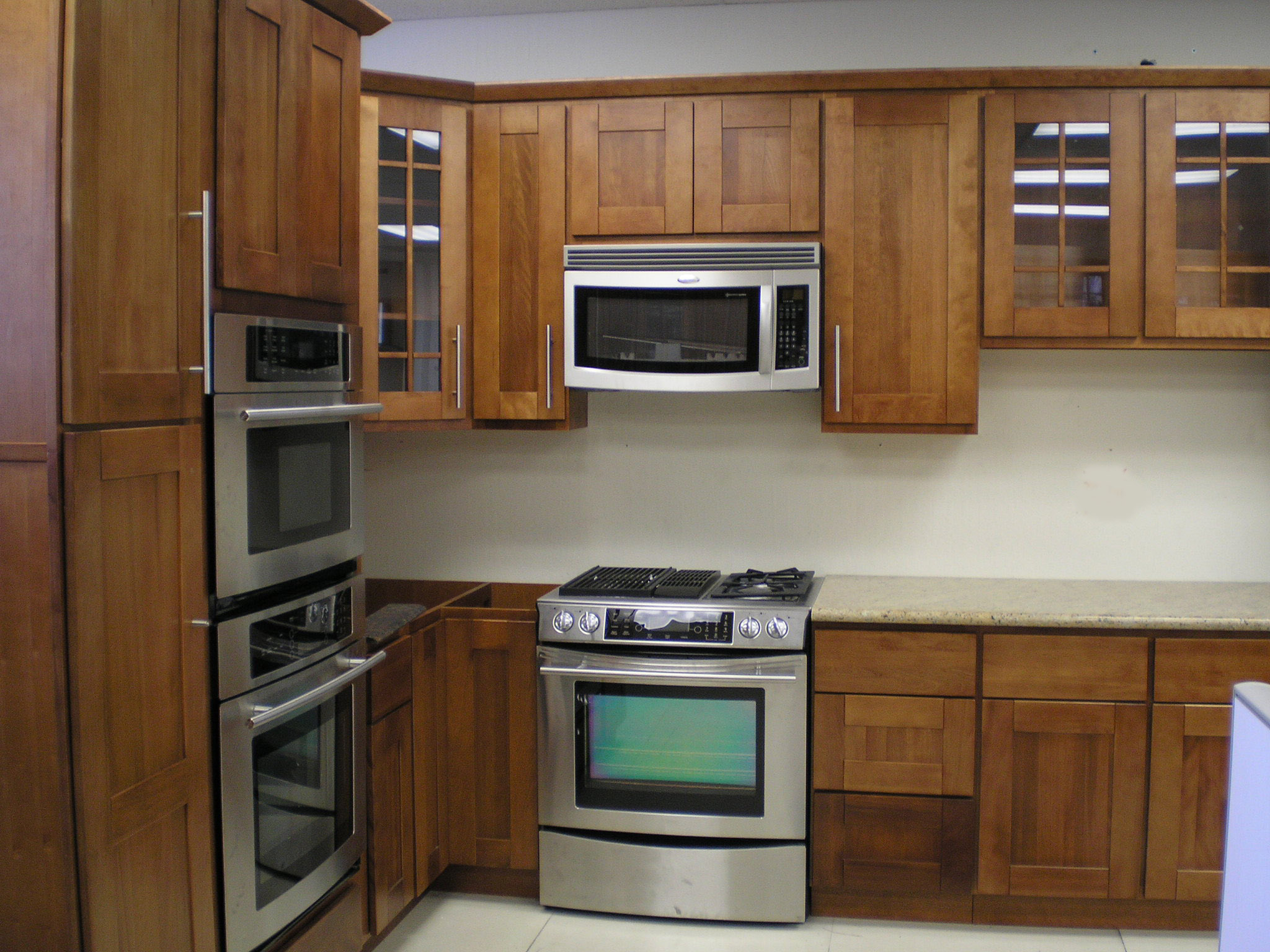 shaker kitchen cabinets shaker kitchen cabinets Discount All Wood Cherry Kitchen Cabinets