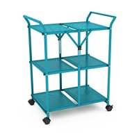 DAR Folding Cart with Handle, Capri Breeze