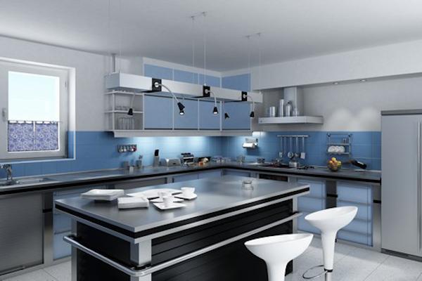 Modern designed kitchen