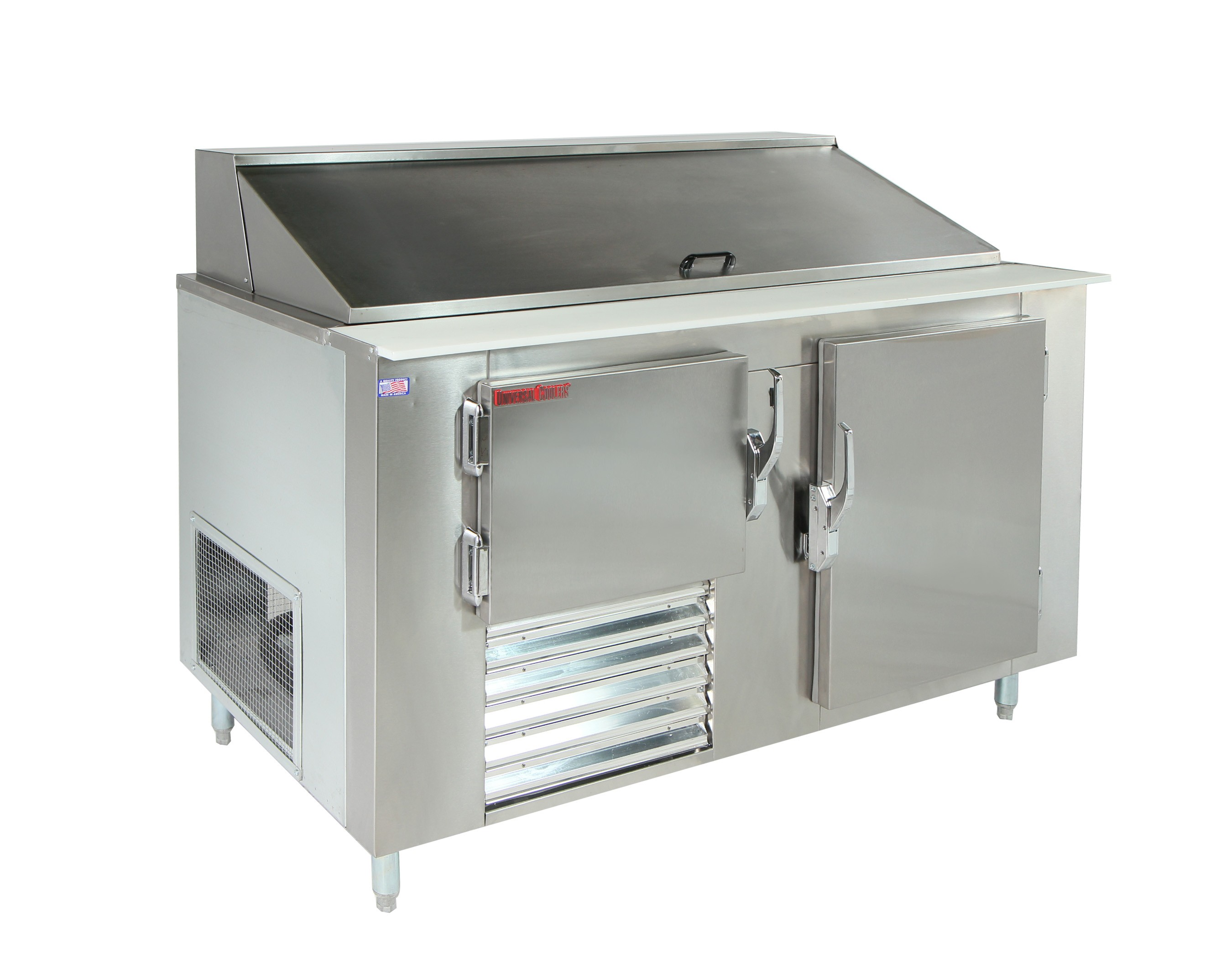 Sandwich Salad Prep Tables c kitchen prep tables Universal Coolers SC 36 BM Refrigerated Sandwich Prep Table 36