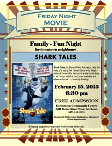 "Friday Night Movie - ""Shark Tale"""