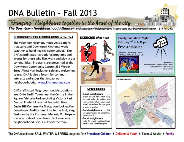 2014 Winter Bulletin - Page 1