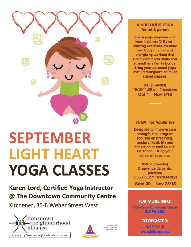 Program - Yoga - September 2015 DCC Yoga Poster II