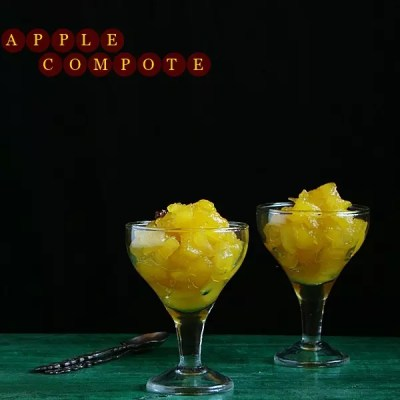 Apple Compote with Apple Flavoured Muesli