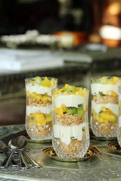 {Ramadan Special} – Guest Post: Exotic Fruit Cheesecake Pots (No-Bake) from Nabeela of Beela Bakes
