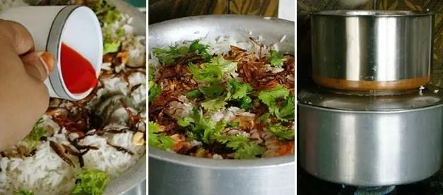 Hyderabadi Style Kachi Murg Dum Biryani