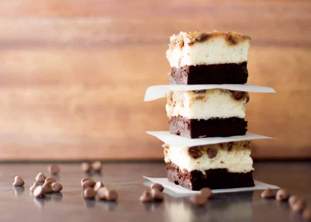 Incredible Brownie Cheesecake Cookie Bars | Traybake | Chocolate