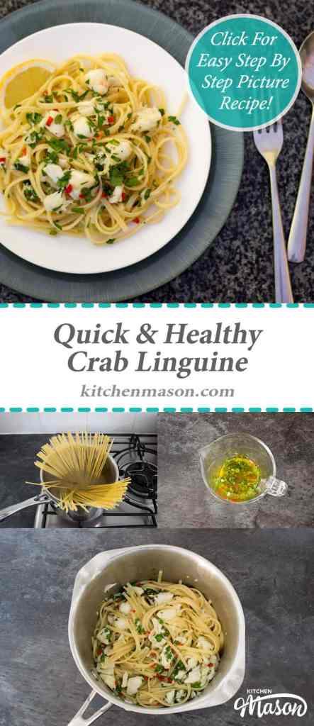 Quick & Healthy Crab Linguine | Pasta | Fish | Cheap