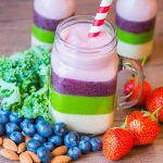 Rainbow Smoothies - Healthy, fun and a big hit with the kids!