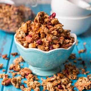 Cranberry Nut Sugar-Free Granola