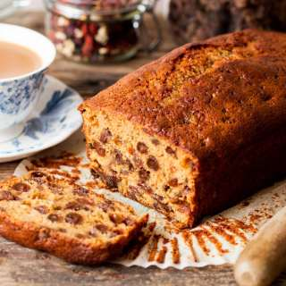 Moist and Fruity Tea Bread