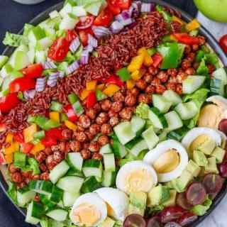 Cobb Salad with Smoky Chickpeas