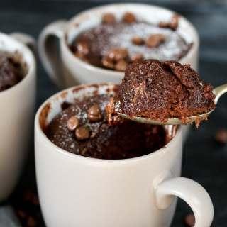Chocolate Caramel Mug Cake Plus Video!