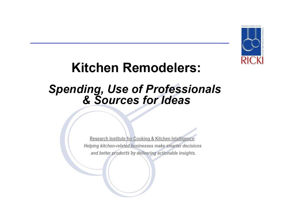 kitchen remodelers spending use of professionals sources for ideas kitchen remodelers Kitchen Remodelers Spending Use of Professionals Sources for Ideas