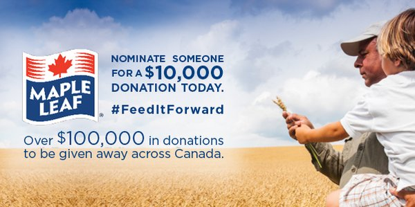 #FeedItForward