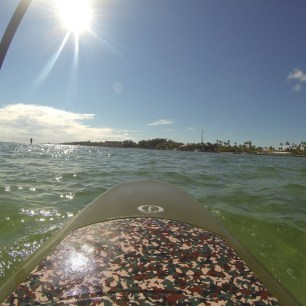 SUPing at the Islander