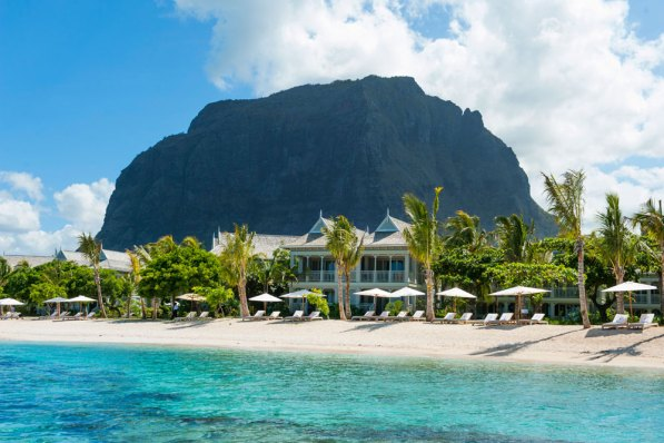 The famous Le Morne mountain / PHOTO: St Regis, Mauritius