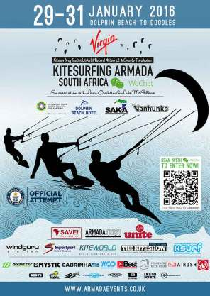 VKSA Virgin Kitesurfing Armada Cape Town Poster 2016 Kiteworld Magazine
