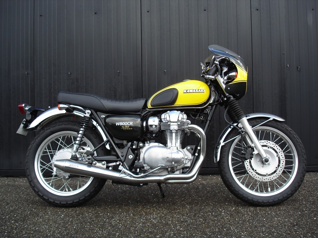 W800 Cafe Racer Motorview Co