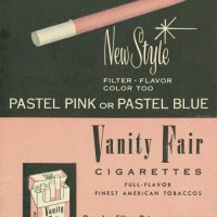 Filter, Flavor, Color Too With Glamorous Vanity Fair Cigarettes