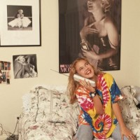 Touring Drew Barrymore's Room, Circa 1980s