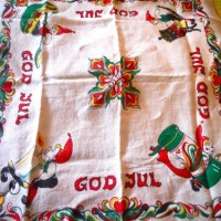God Jul On Your Tablecloth
