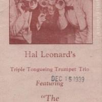 Hal Leonard's Triple Tongueing Trumpet Trio