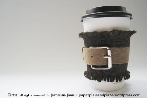 Coffee Cup Sleeve Cozy Tutorials Kitskorner