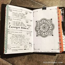 InstaDiary : Jul 28 -Jul 31 Daily-Weekly Spread in my Mandala Journal (BuJo)