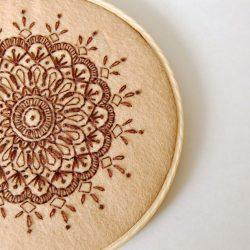 DIY Mandala Embroidery Tutorials