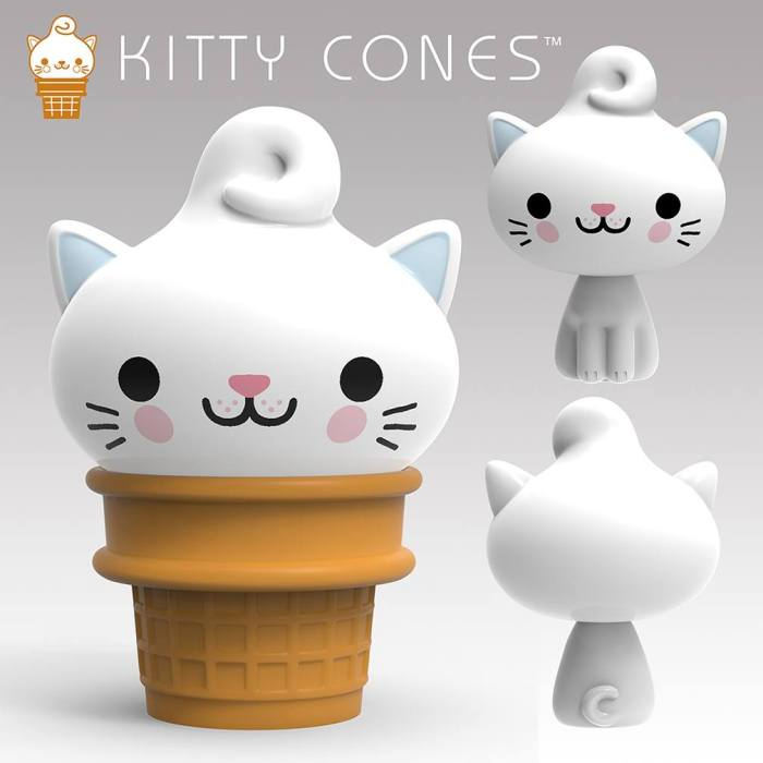 Kitty Cone Collectible Figures
