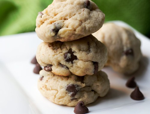 Chocolate Chip Almond Extract Cookies - a twist on the classic chocolate chip recipe. A splash of almond extract adds a unique touch to this tasty dessert.