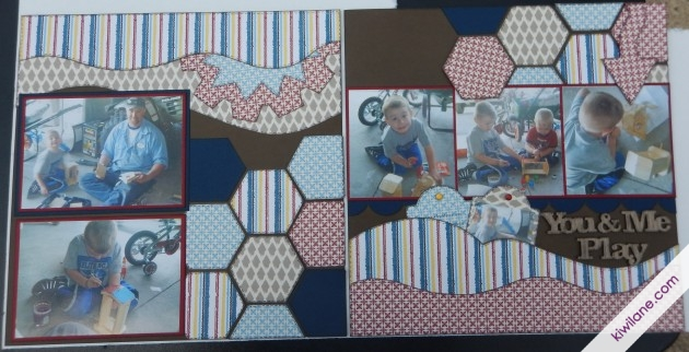 Completed Layout using Hexagon
