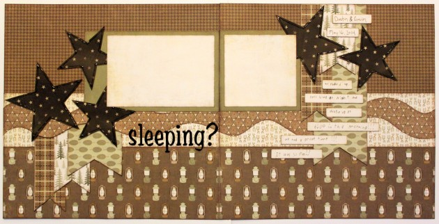 sleeping 2-page layout
