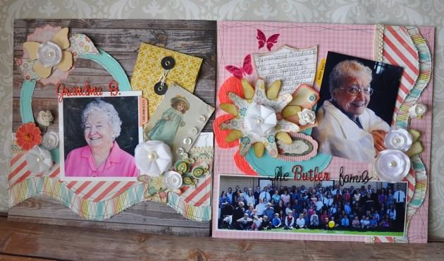 Grandma B 2-page layout