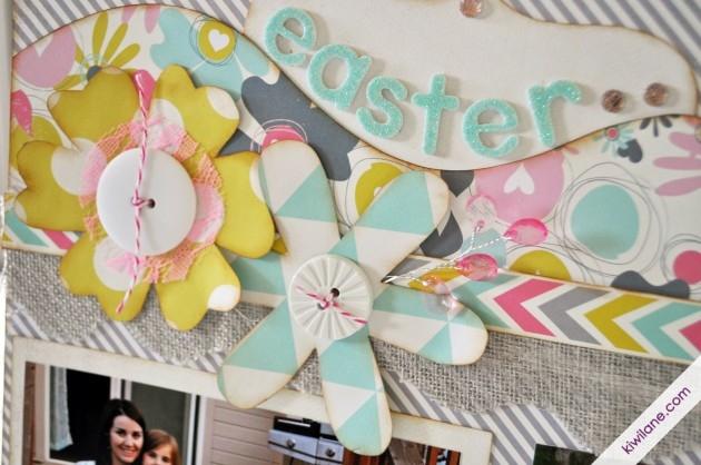 Easter Flower Closeup