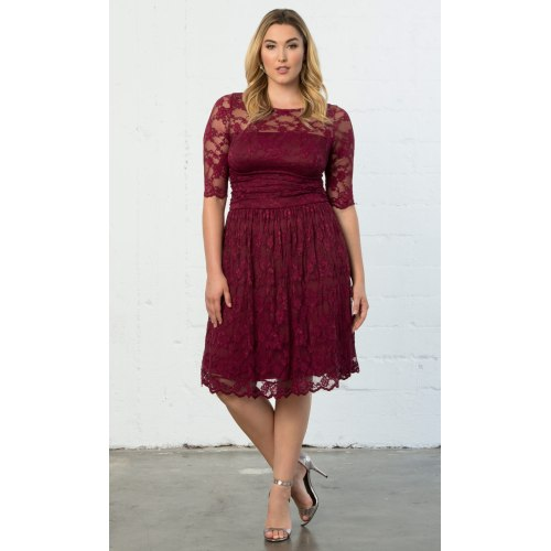 Medium Crop Of Plus Size Cocktail Dress