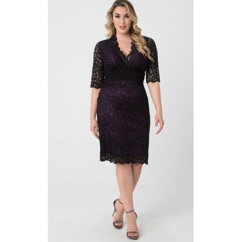 Medium Crop Of Lace Cocktail Dress
