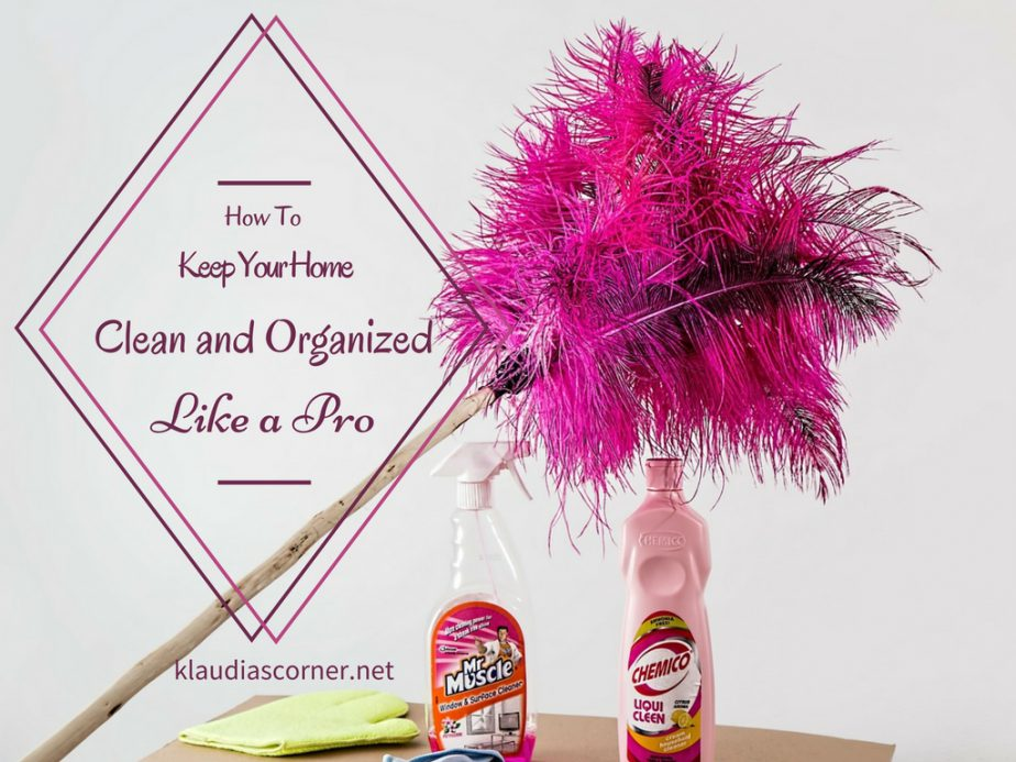 Keep Your Home Clean and Organized Like A Pro - A Complete Guide For The Busy Lady
