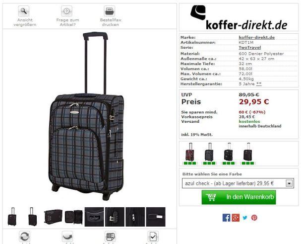 kofferdirektkoffergünstig