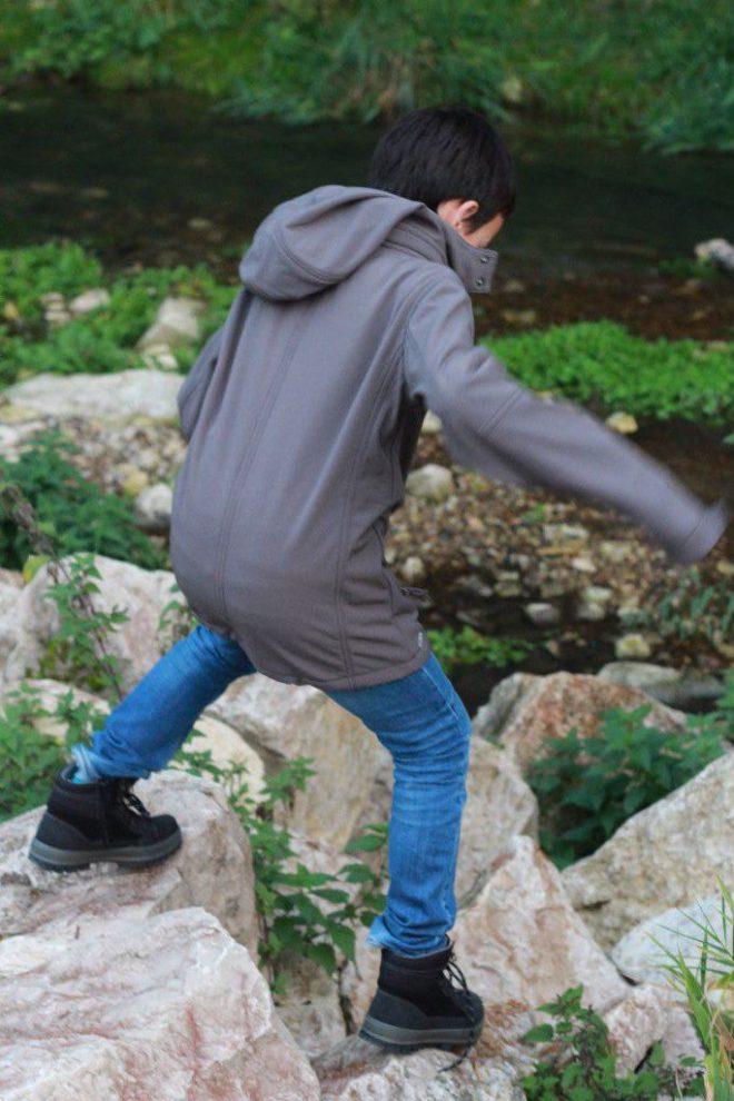 Über Stock und Stein