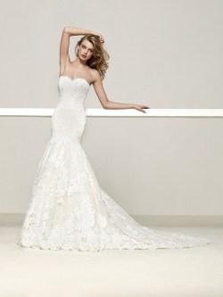 Debonair Pronovias Romantic Mermaid Wedding Dress 33615683 Mermaid Wedding Dresses Under 200 Mermaid Wedding Dresses Under 100