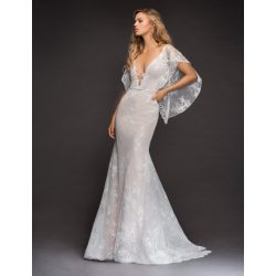 Small Crop Of Lace Wedding Dress With Sleeves