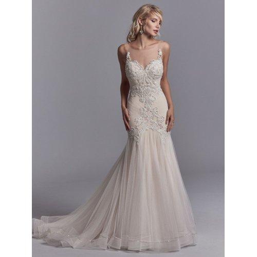 Medium Crop Of Sweetheart Neckline Wedding Dress